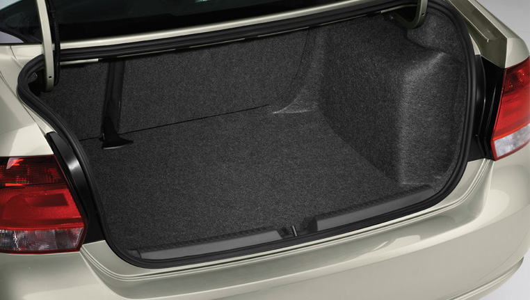 Volkswagen Polo Sedan Boot space