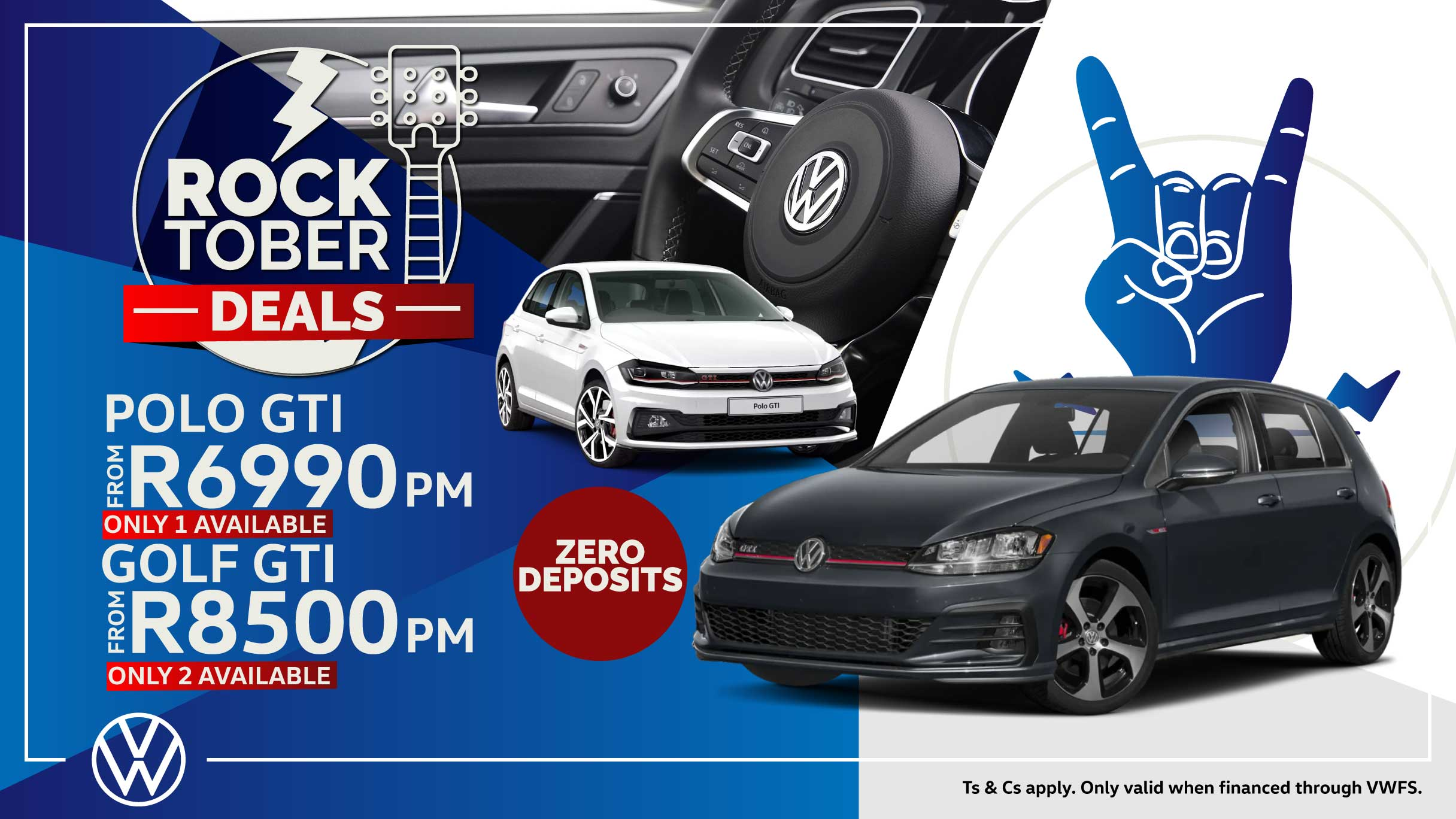 Barons Cape Town Polo GTI and Golf GTI offer